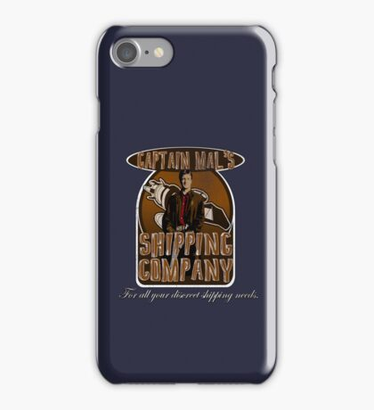 Captain Mal's Shipping Company iPhone Case/Skin