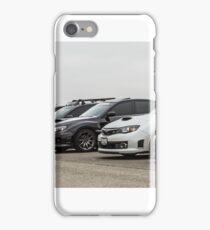 Subaru Roll Call iPhone Case/Skin