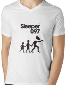 Sleeper (hypno) Pokemon Shirt Mens V-Neck T-Shirt