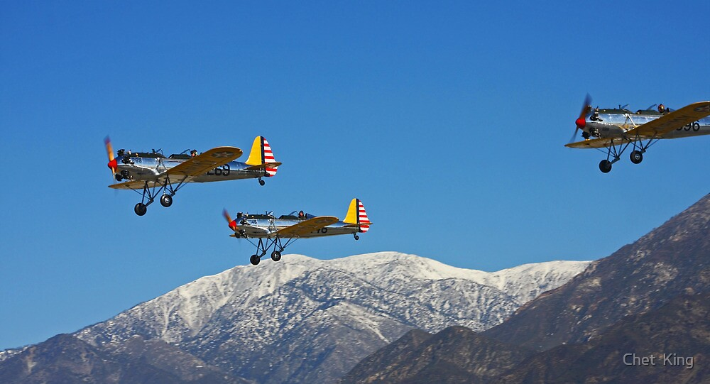 Wild Blue Yonder by Chet  King