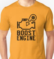 Boost engine check engine light T-Shirt