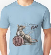 Chinese Zodiac - Year of the Rat Unisex T-Shirt