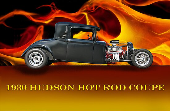 1930 Hudson Hot Rod Coupe IV by DaveKoontz