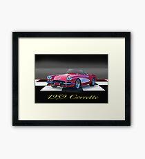 1959 Corvette Roadster Framed Print