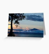 Mount Cameroon Greeting Card
