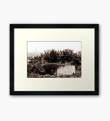 Containers Framed Print