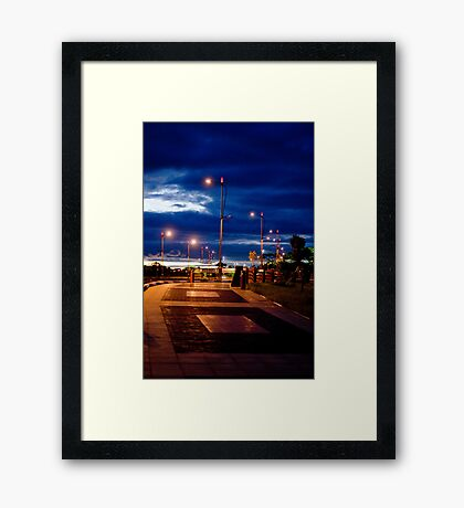 Evening in Sipopo Framed Print