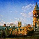 Princeton University Campus by Debra Fedchin