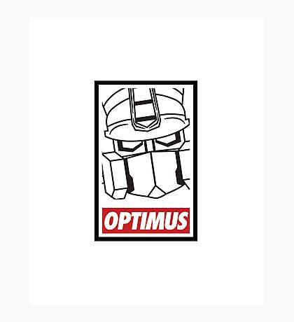 Optimus Photographic Print