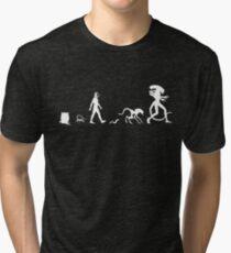 Xenomorph Evolution Tri-blend T-Shirt