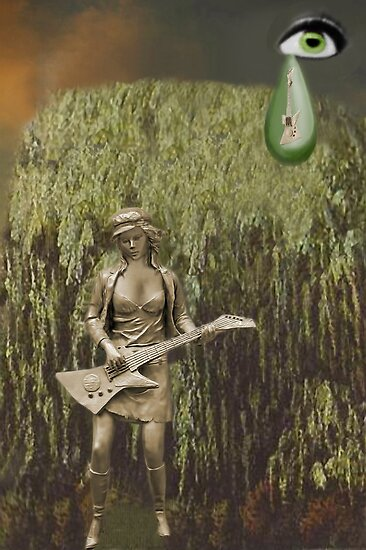 ✌☮ WHEEPING WILLOW TREE- WHILE MY GUITAR GENTLY WEEPS ✌☮  by ✿✿ Bonita ✿✿ ђєℓℓσ