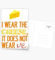 I Wear the Cheese. Postcards