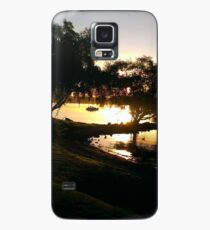 Lake on a Spring Evening Case/Skin for Samsung Galaxy
