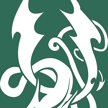 Celtic Knot Dragon by geekerymade