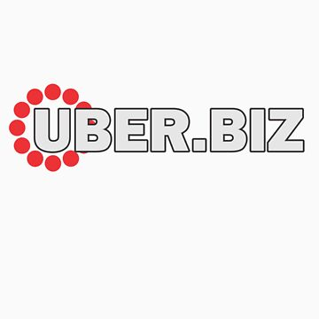 Uber.biz - simple logo t-shirt by UberConsult