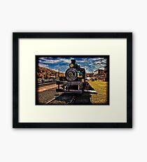 Old Steam Engine #3 Framed Print