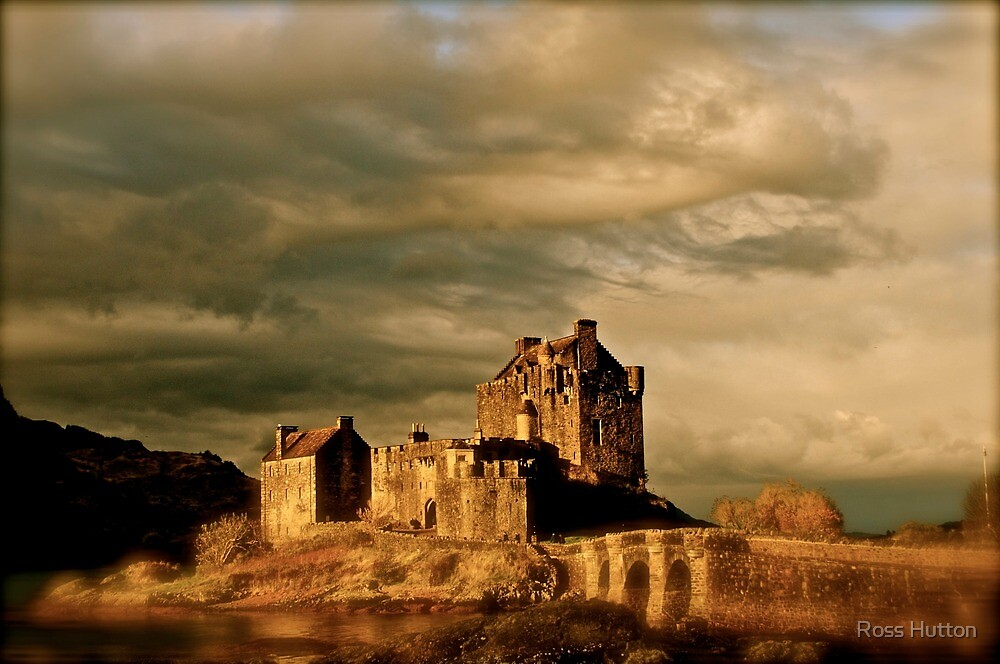 Eilean Donan Castle by Ross Hutton