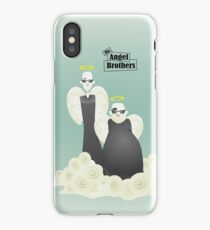 the Angel Brothers_zoom iPhone Case