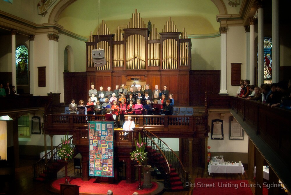 0358 The Choir by Pitt Street  Uniting Church, Sydney