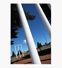 The great Australian game Photographic Print