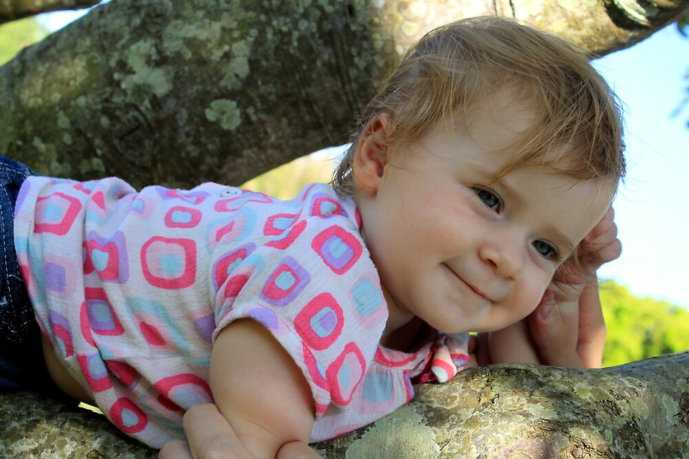 Emalee's First Tree Climb by Jenelle  Irvine