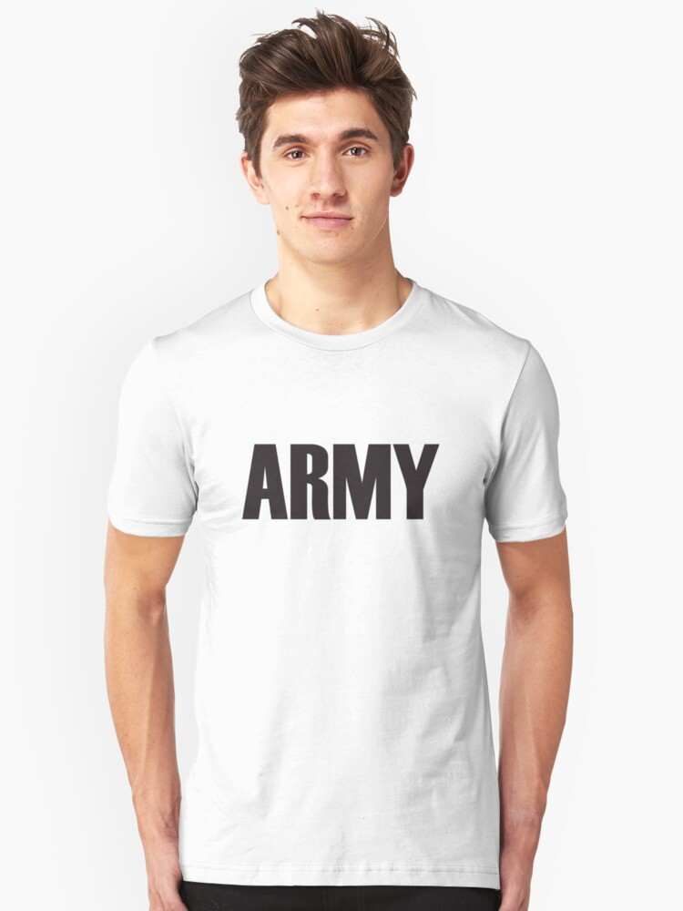 Army Unisex T-Shirt Front