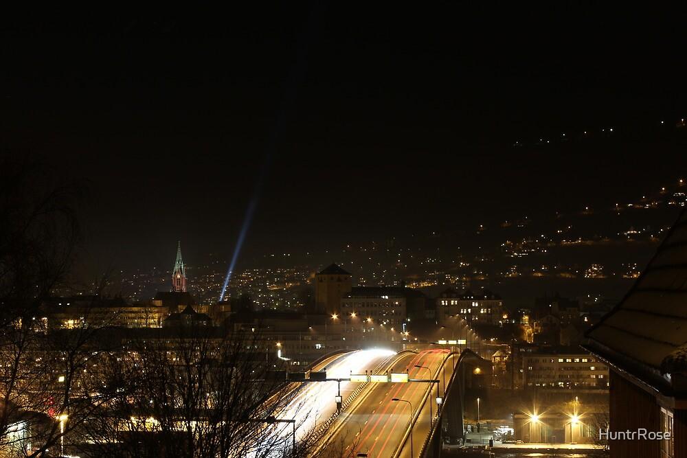 Bergen by Night by HuntrRose