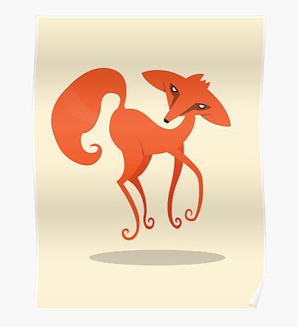 Foxprit Poster