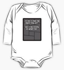GTA 4 Niko Bellic Quote T Shirt One Piece - Long Sleeve