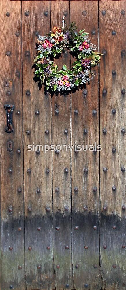 Old Door of Culross by simpsonvisuals