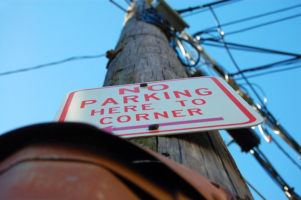 No Parking Sign by d1373l