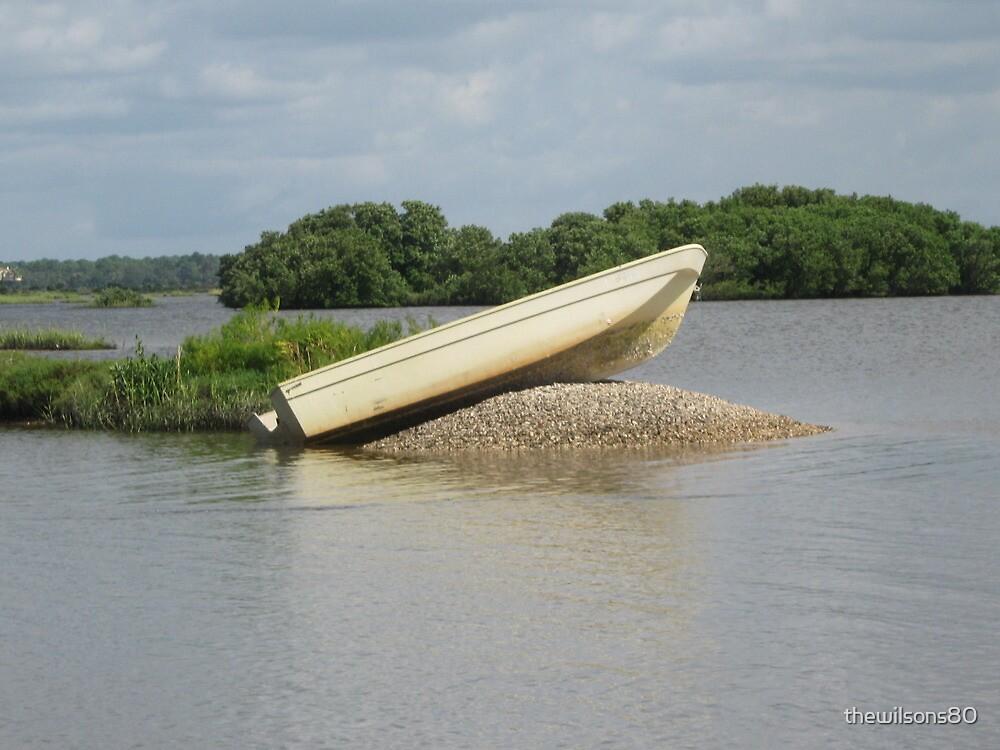 Sandbar Boat by thewilsons80