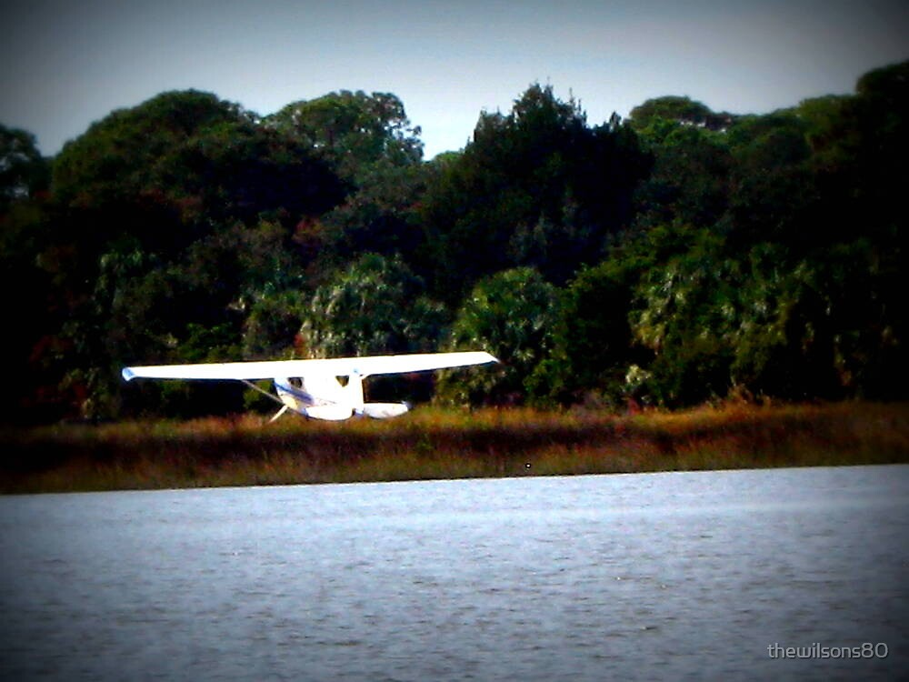 Landing Plane by thewilsons80