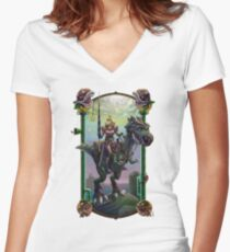 """""""He Just Might be in Another Castle."""" Women's Fitted V-Neck T-Shirt"""