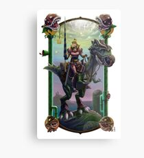 """He Just Might be in Another Castle."" Metal Print"