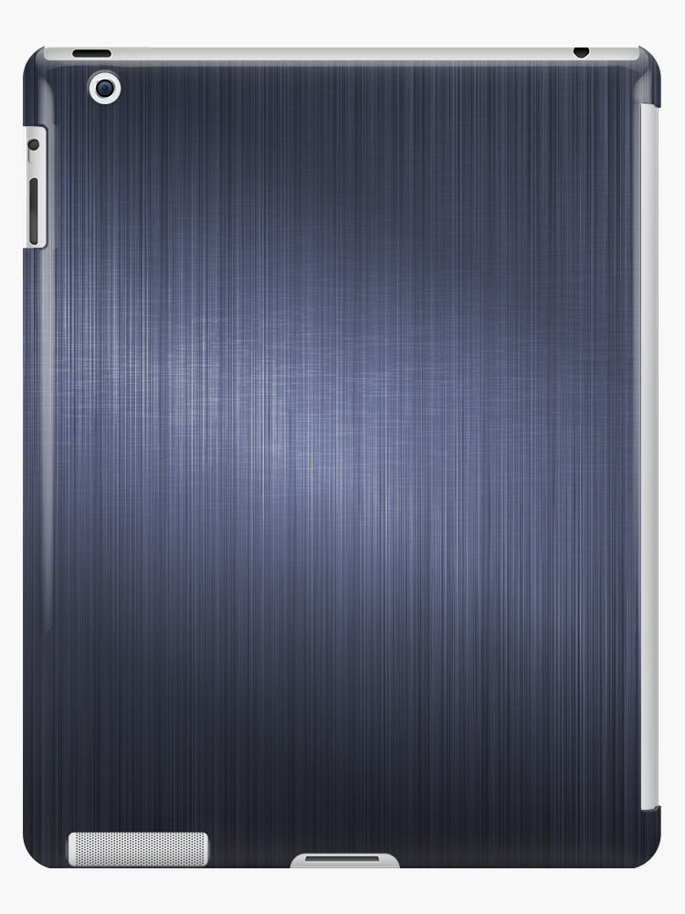 Dark Blue Metallic Design-Brushed Aluminum Look by artonwear