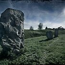 Avebury by Moonlight by Angie Latham