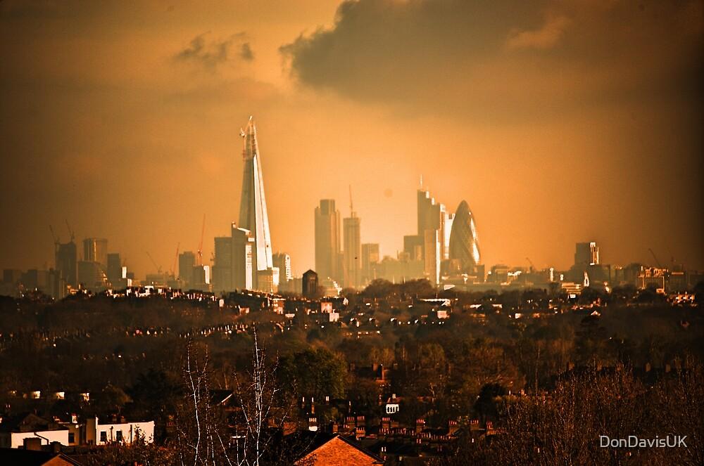 London City Skyline by DonDavisUK