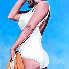 Marilyn Monroe by Tom Roderick