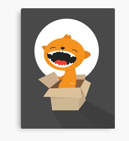 Cat Surprise Canvas Print