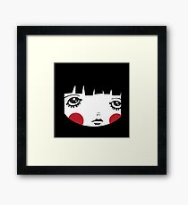In a Square Framed Print