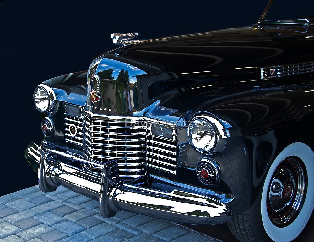 1941 Cadillac Convertible Grill Detail by DaveKoontz