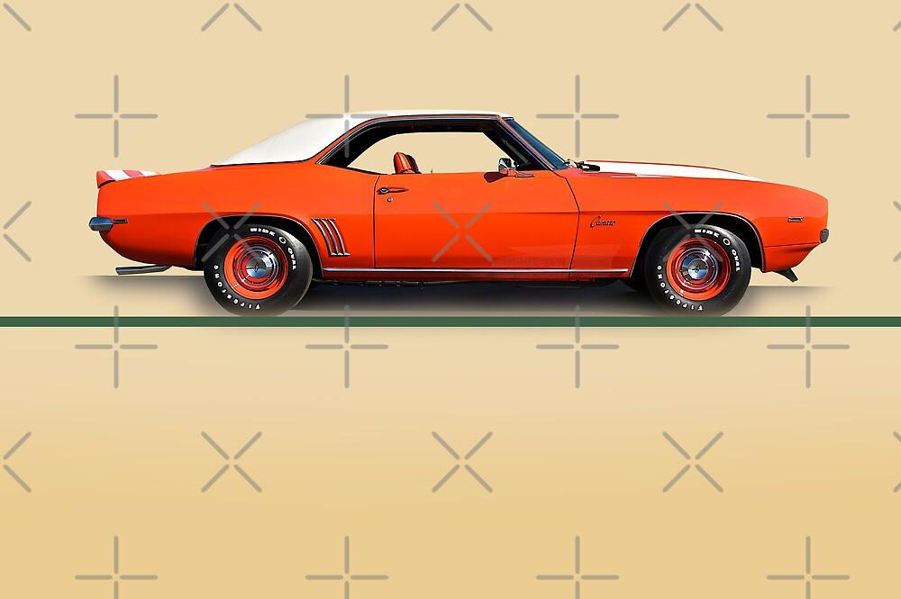 1969 Chevrolet Camaro COPO w/o ID by DaveKoontz