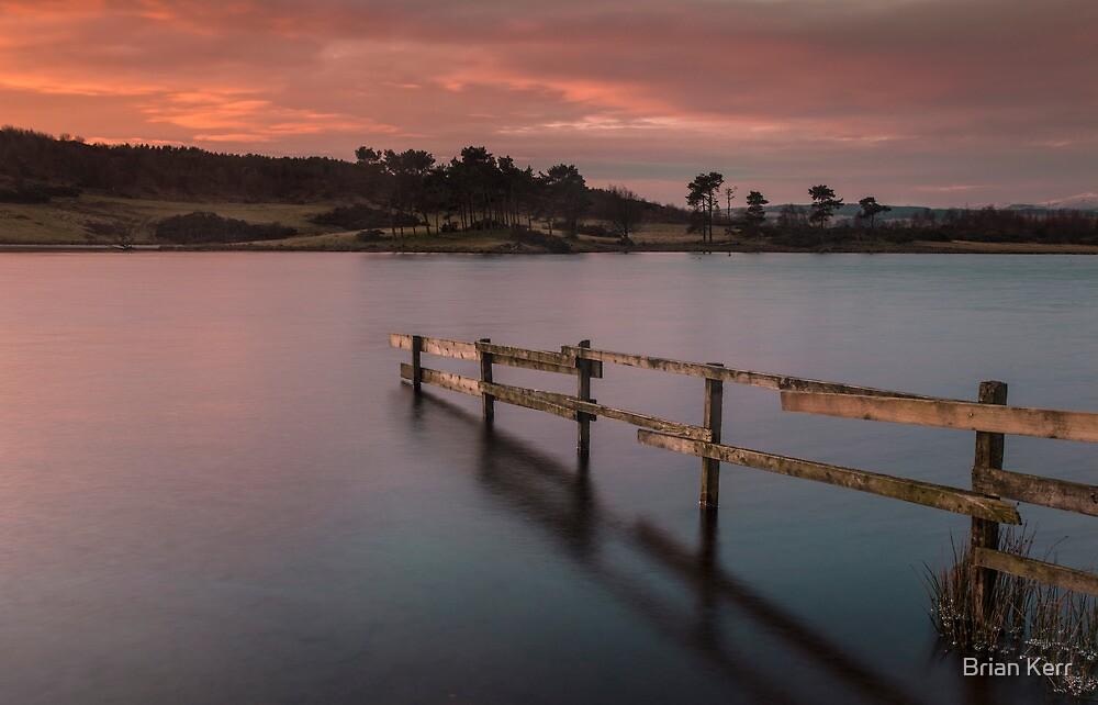Early Morning On Knapps Loch by Brian Kerr