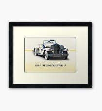 1934 Duesenberg J w/ID Framed Print