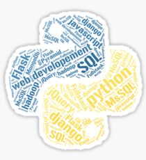 Python Programmer T-shirt & Hoodie Sticker
