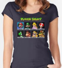 Player Select Women's Fitted Scoop T-Shirt
