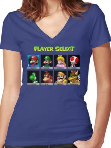 Player Select Women's Fitted V-Neck T-Shirt