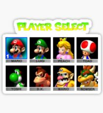 Player Select Sticker