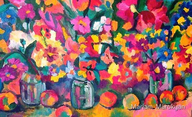 flowers by Mariam  Marukyan